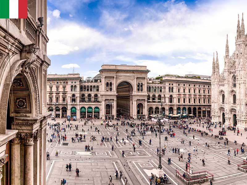میلان شهر ایتالیا
